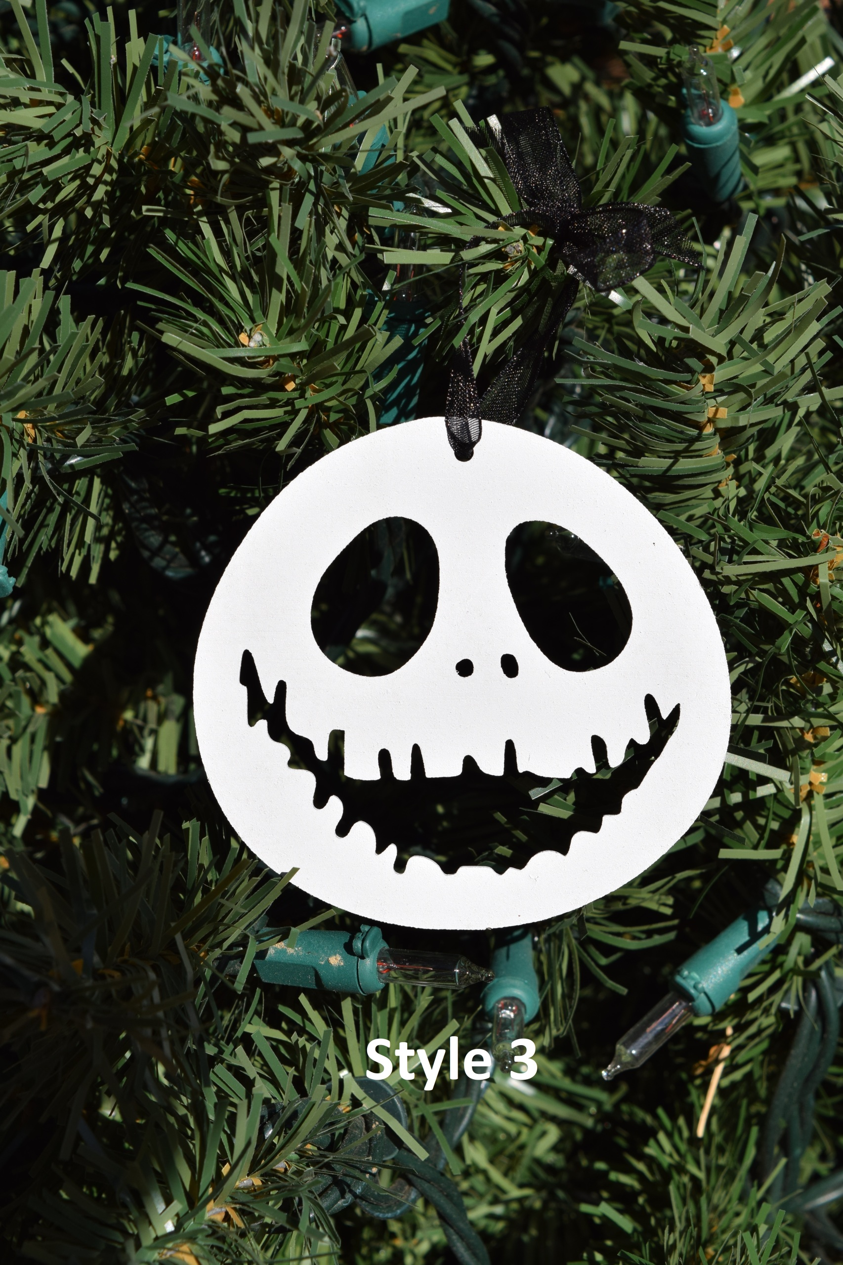 jack skellington ornaments - Jack Skellington Christmas Decorations